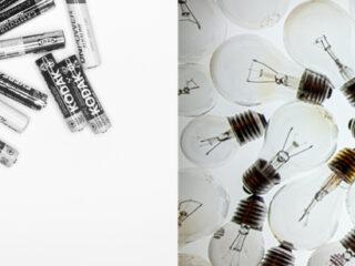 Glühbirnen & Batterien entsorgen